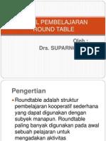 Model Pembelajaran Roundtable