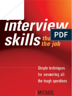Interview Skills That Win the Job - Michael Spiropoulos