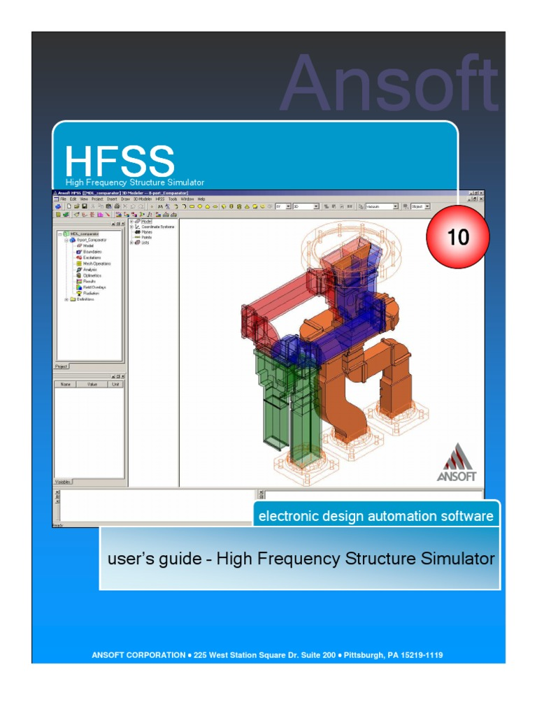 Hfss Full Book | 3 D Computer Graphics | Menu (Computing)
