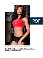Top 10 Most Successful and Accomplished Female Fitness Models