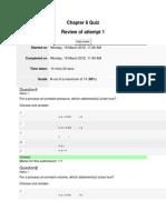Lichter CHM1045 Quizzes (6A) (Spring 2012)