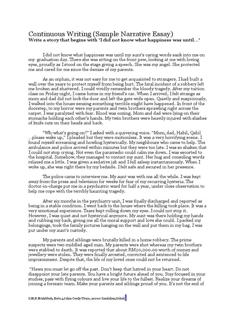 winning introduce myself essay examples
