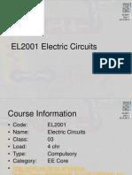 # 0 - Silabus EL2001