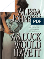 Alissa Johnson - As Luck Would Have It (Epub)
