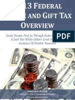 2013 Federal and Gift Tax Overview