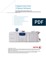 Xerox 700 DCP Customer Expectations Document
