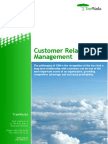 Customer Relationship Management (TreeWorks white paper)