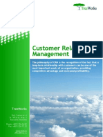 Customer Relationship Management (TreeWorks white paper)