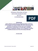 6 POSDRU Procedura Achizitii Publice
