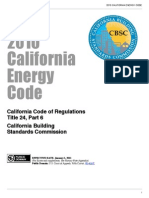 2010 California Energy Code