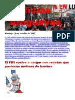 Noticias Uruguayas Domingo 20 de Octubre Del 2013