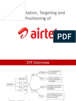 STP Airtel Segmentation