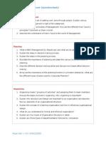Principles of Management {Question Bank}