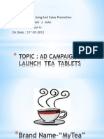 88164031 Advertising and Sales Promotion Campaign