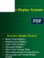 Lecture 2 Graphic Display Systems