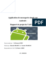Rapport Projet RSM Android