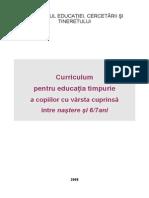 Curriculum Educatie Timpurie 0-7 Ani_27.05.2008