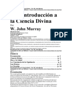 Una Introducción a la Ciencia Divina JOHN MURRAY