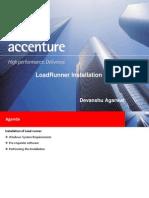 Loadrunner Installation