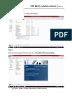 QTP 11 Installation Guide
