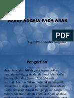 Anemia Pada Anak