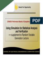 Statistic Matlab