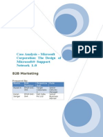 Case Analysis Microsoft