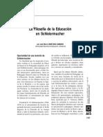 Filosofia de La Educacion, Quintana