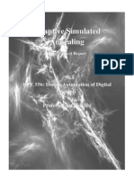 Adapted Simulated Annealing
