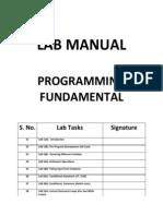 Muhammad Ghouse PF Lab Manual