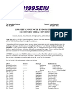 2009 Endorsements Release Final