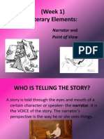 point of view and narrator