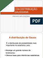 Estudo Da Distribuio Gaussiana