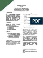 Informe de Laboratorio i 1.0