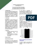 Informe de Laboratorio II