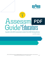 2014 GED Assessment Guide for Educators