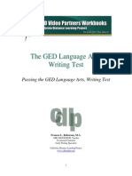 GED Writing Test Format