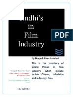 Sindhis in Film Industry