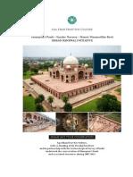 2013 Humayun Tomb Conservation