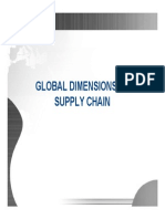 Global Dimensions of Supply Chain