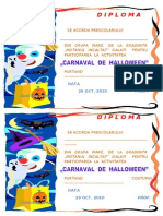 0 Diploma Halloween 2010