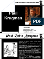 Paul Krugman Premio Nobel 2008