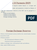Foreign Exchange Resserves