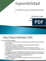 Alta DisponibilidadV3