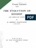 Evolution of Kinship ties