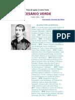 Texto de Apoio Cesario Verde