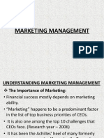 Marketing Management Unit 1