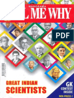 Great Indian Scientists (Tell Me Why #81)(Gnv64)