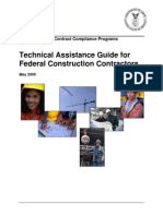 Technical Assistance Guide for Federal Construction Contractors