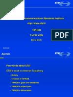European Telecommunications Standards Institute